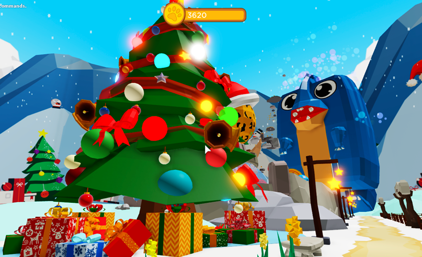 Christmas Update in Pet Party