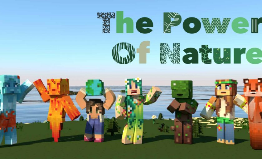 The Power of Nature Skin pack